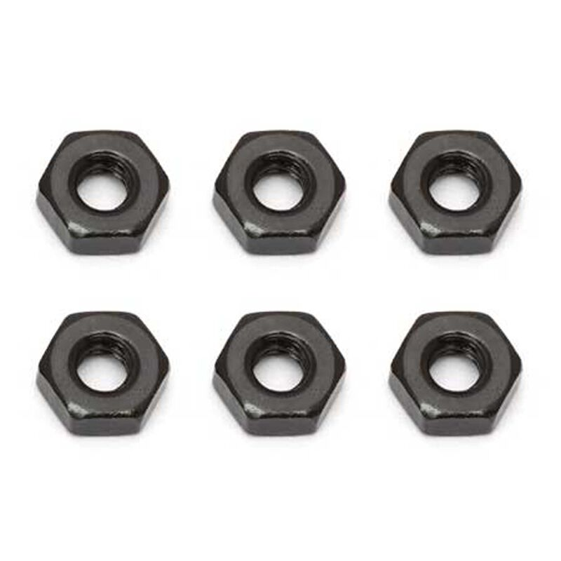 Nuts M3, Black