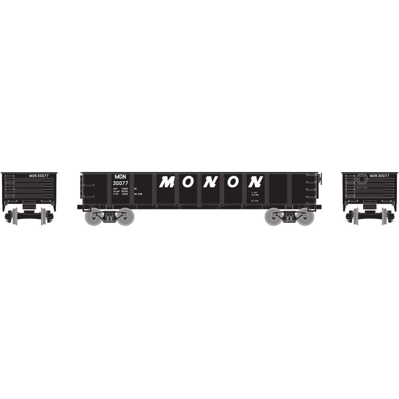 HO 40' Gondola Monon #30077