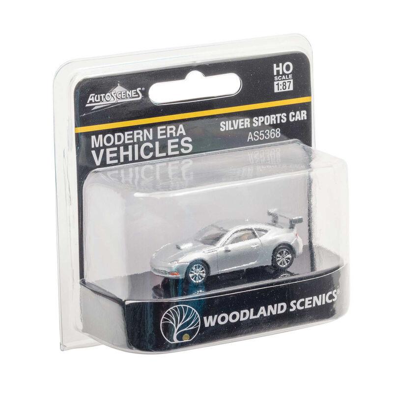 HO Silver Sports Car