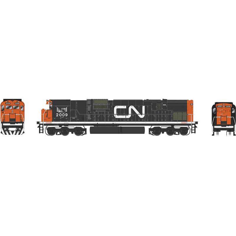 HO C630M w DCC & Sound CN Noodle #2031
