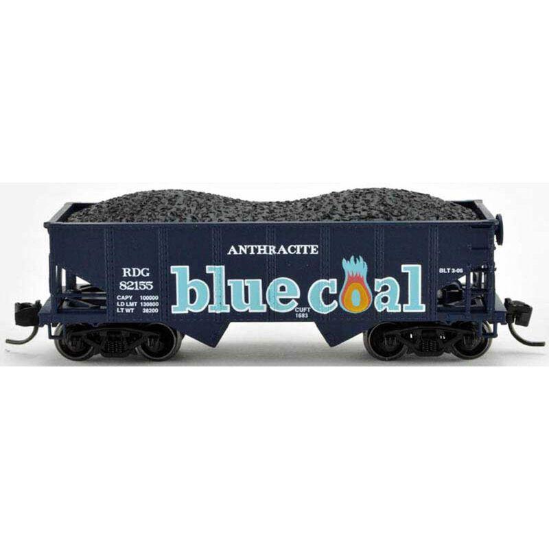N Gla Hopper RDG Blue Coal #82185