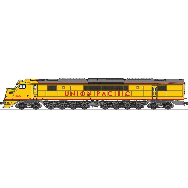 HO Centipede w/DCC & Sound, UP #1600A/#1601A