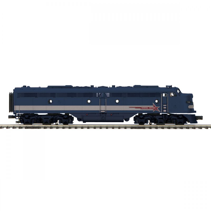 O-27 E8 A with PS3 Hi-Rail EMD #766