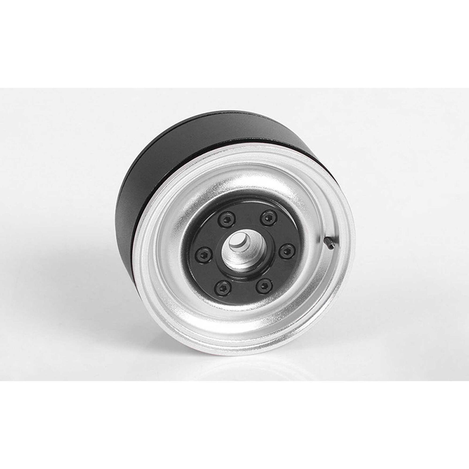 1/10 Vehement 1.9 Front/Rear Internal Beadlock Crawler Wheels, 12mm Hex, Aluminum (1)