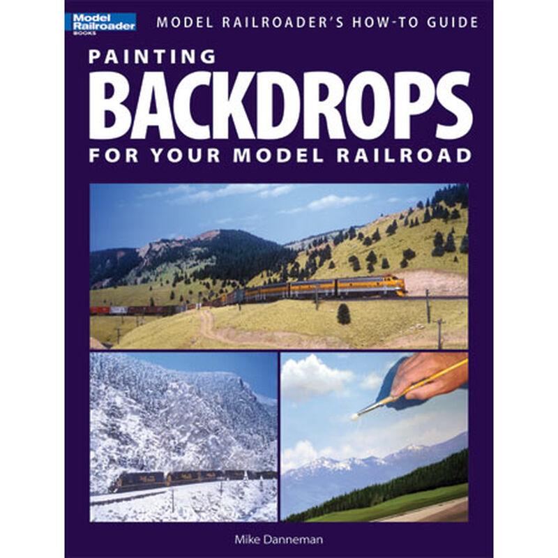 Painting Backdrops: Model RR