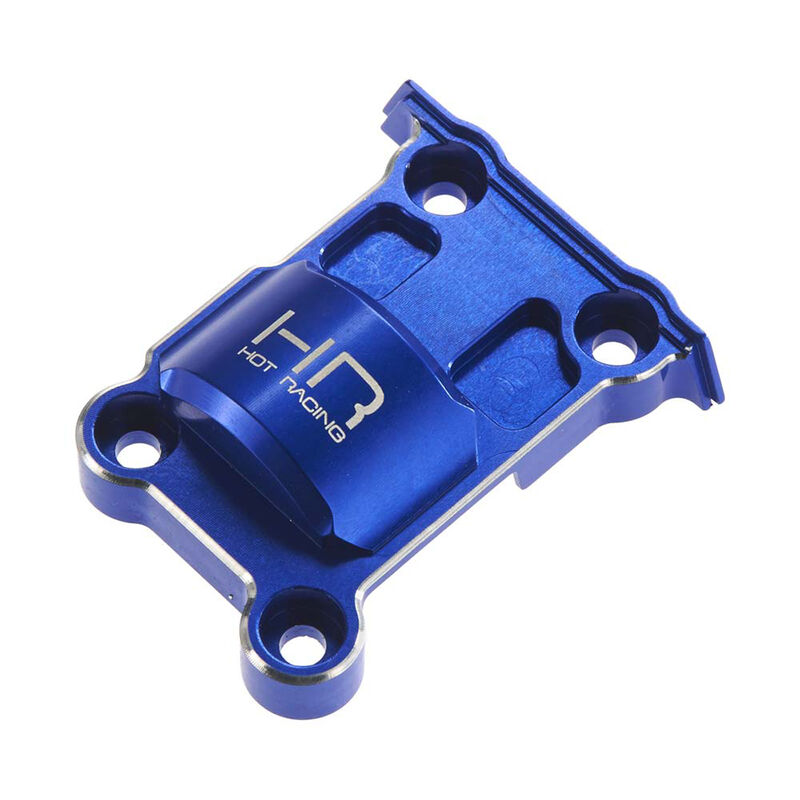 Aluminum Upper Rear Gear Box Cover: X-Maxx