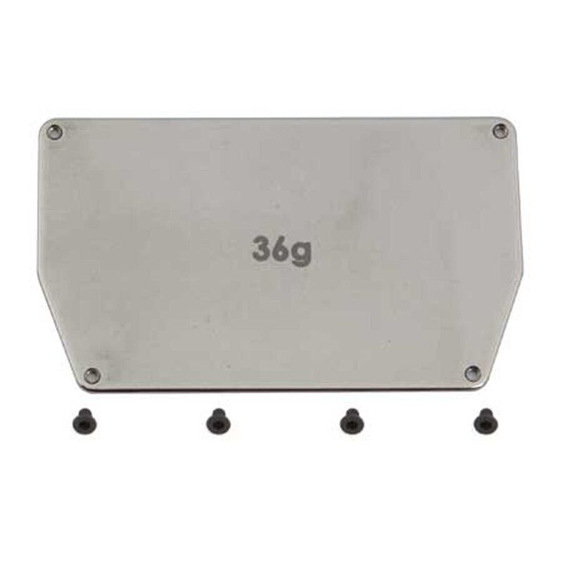 Factory Team Steel Chassis Weight 36g: B6