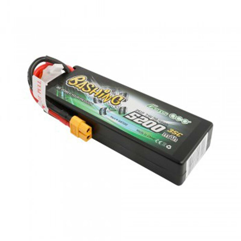 7.4V 5200 Capacity 2S Voltage 35C Rate XT60