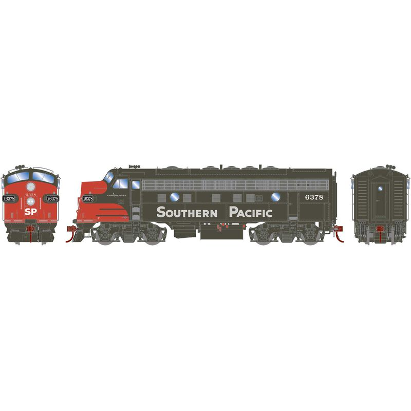 HO F7A with DCC & Sound SP #6378