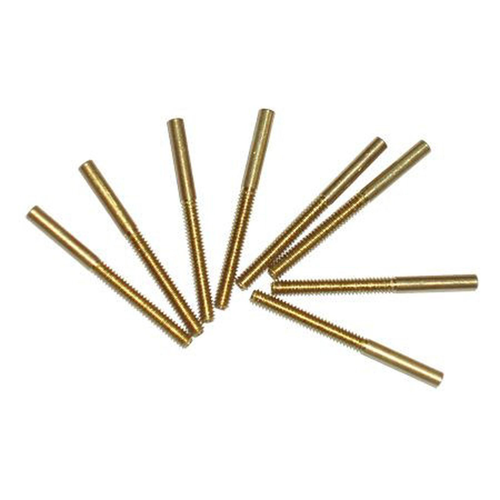 Threaded Brass Coupler,2-56(8)