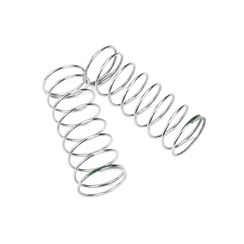 Shock Spring Set, Rear, 1.2x8.75, 2.41lb/in, 53mm, Green