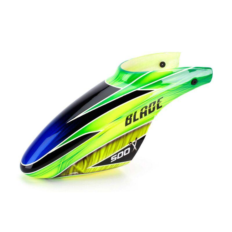 Fiberglass Canopy, Green: Blade 500