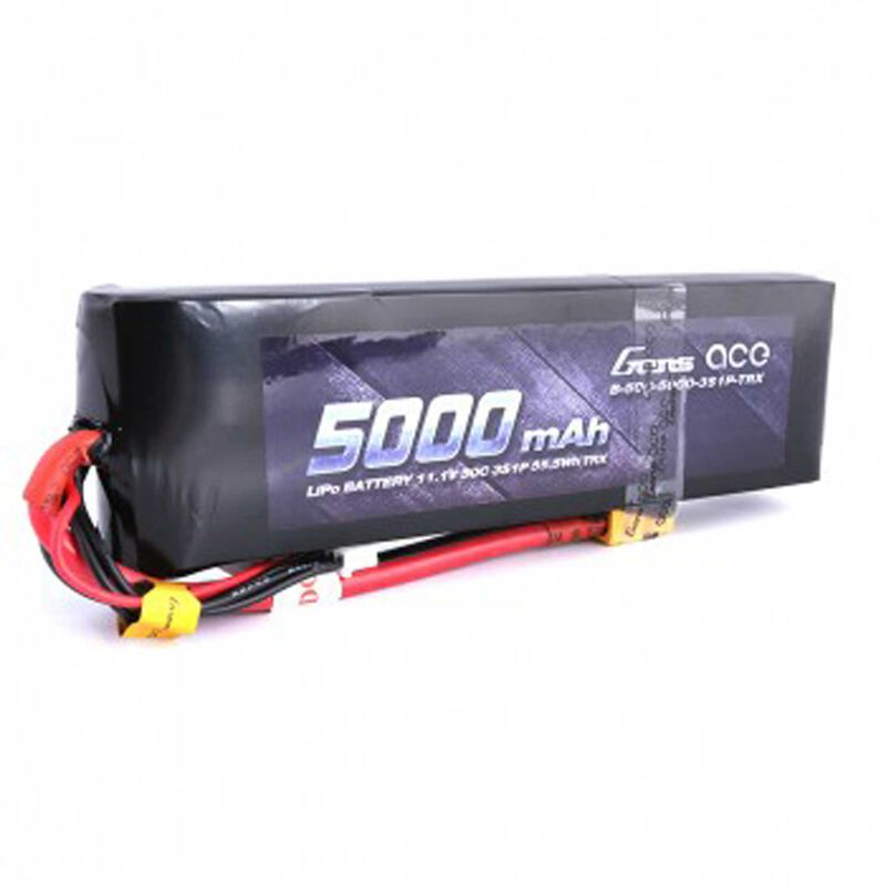 11.1V 5000 Capacity 3S Voltage 50C Rate XT60