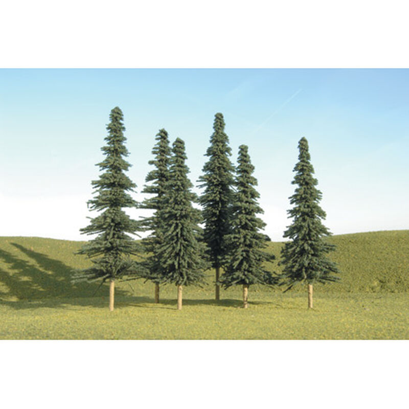 """Scenescapes Spruce Trees, 5-6"""" (6)"""