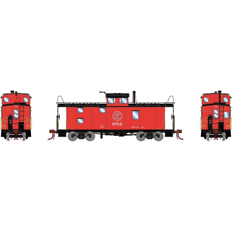 HO ICC Caboose with Lights & Sound, P&WV #852