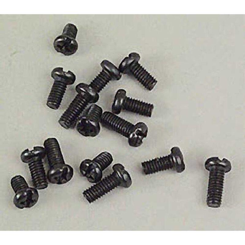Round Head Machine Screw, 4mm (15)
