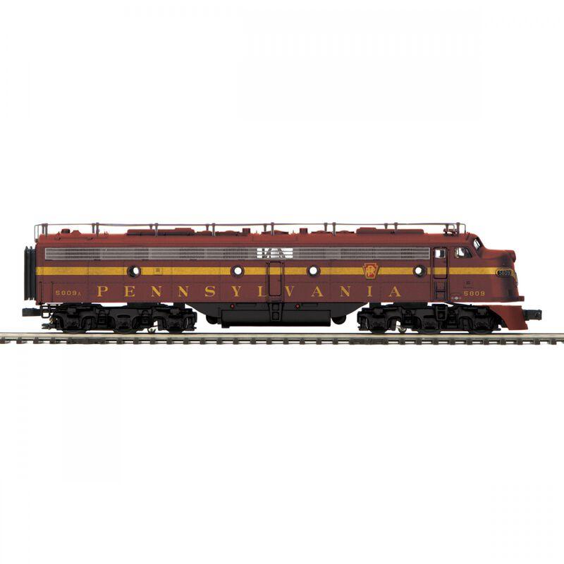 O-27 E8 A with PS3 Hi-Rail PRR #5809