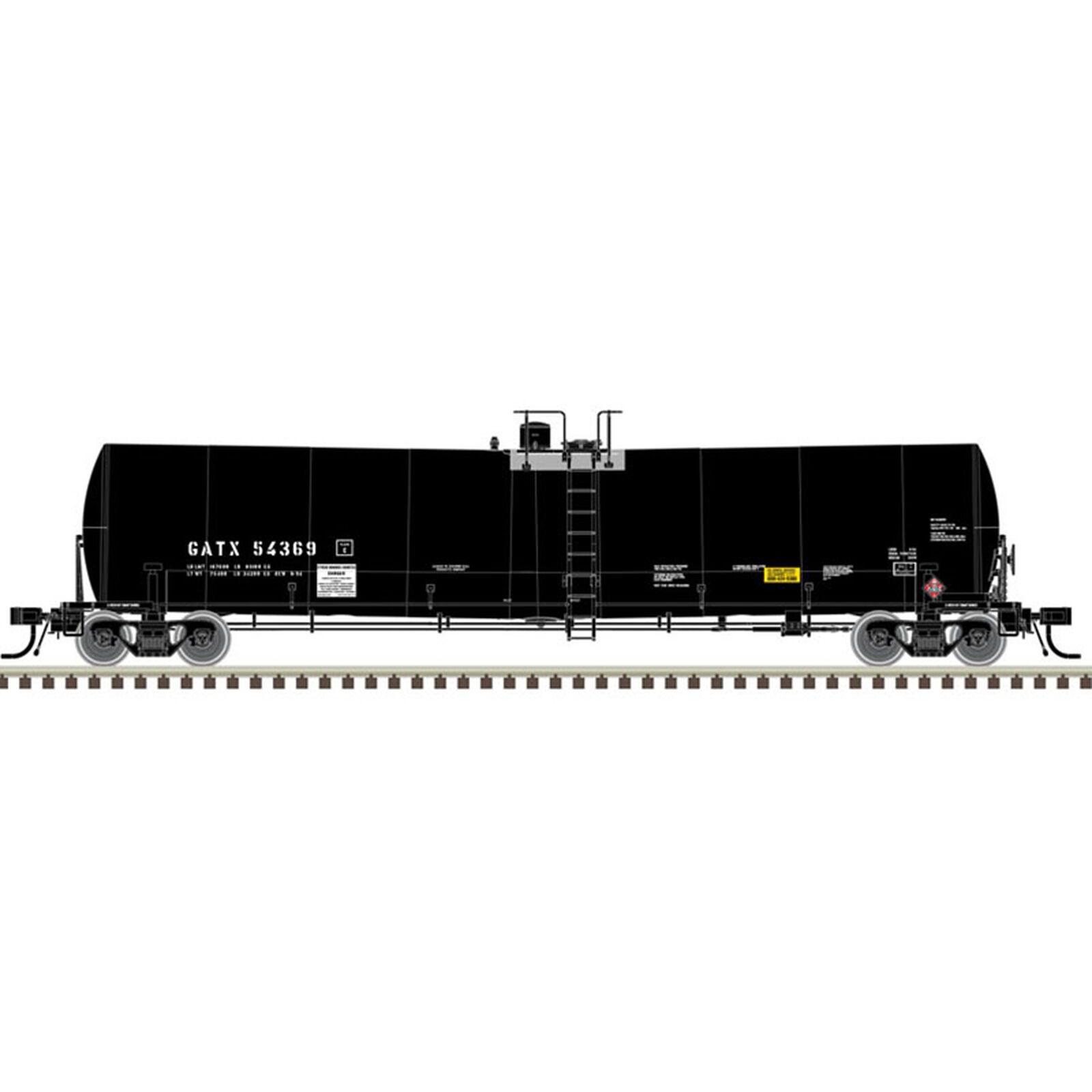 N 25 000-Gallon Tank GATX #54380