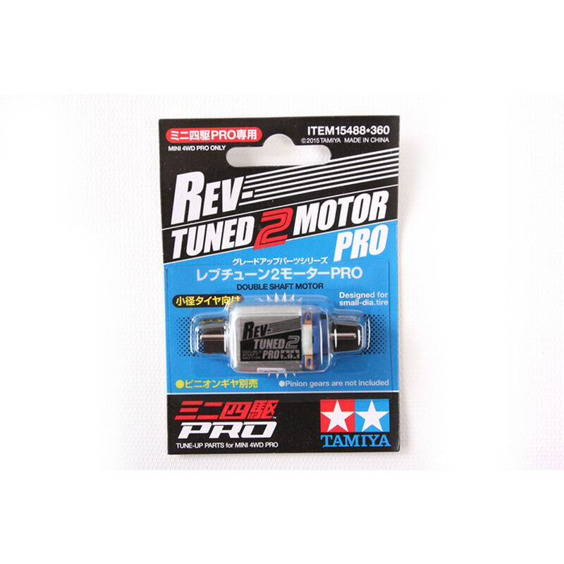 JR Rev-Tuned 2 Brushed Motor PRO