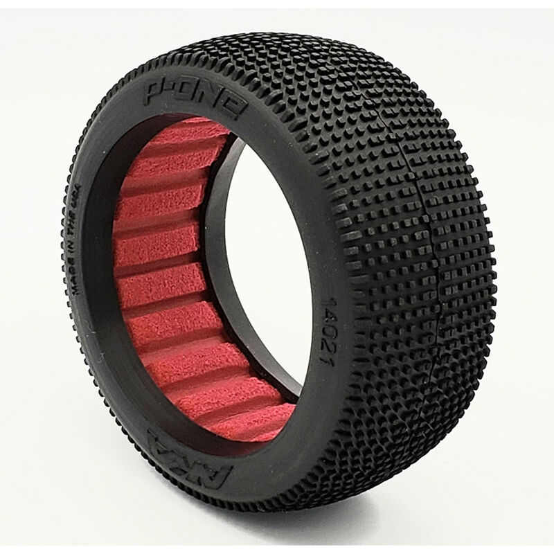 1/8 Buggy P1 (Soft - Long Wear), Red Insert
