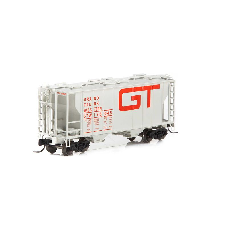 N PS-2 2600 Covered Hopper GTW #138045