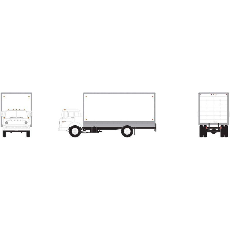HO RTR Ford C Box Van, White