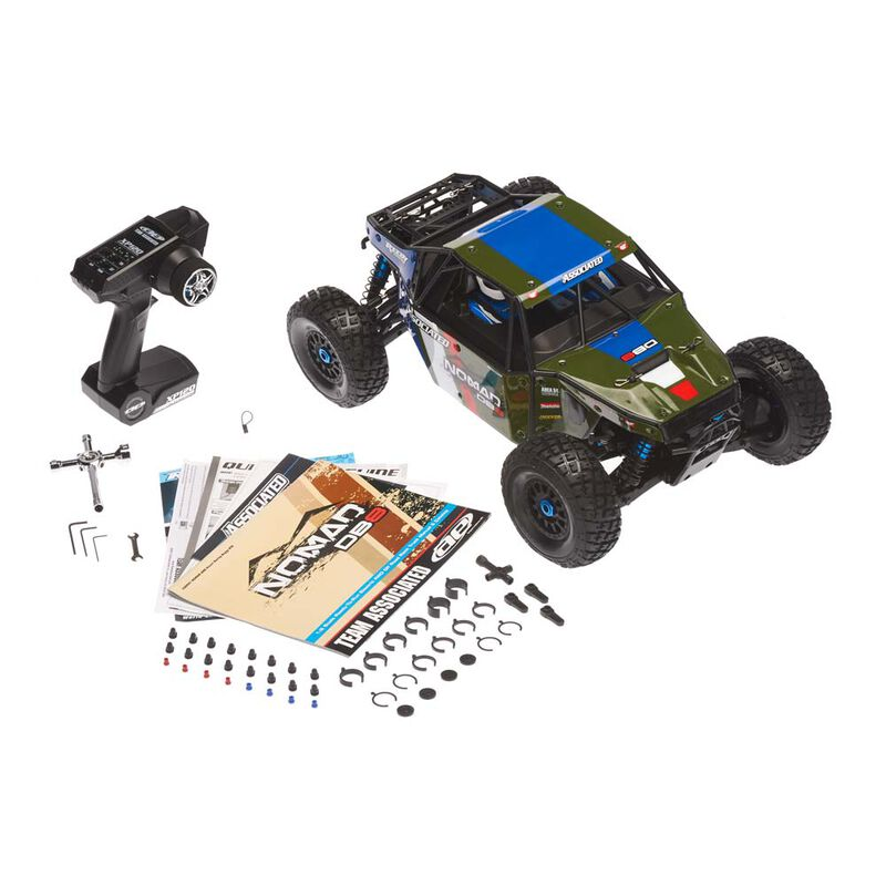 Limited Edition Nomad DB8 RTR LiPo Combo