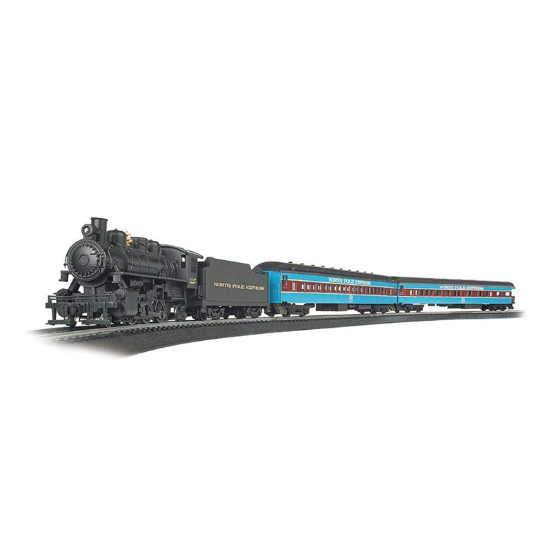 HO North Pole Express Train Set