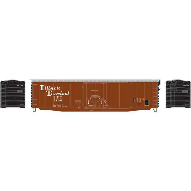 N 50' PS-1 Plug Door Smooth Side Box ITC #7106