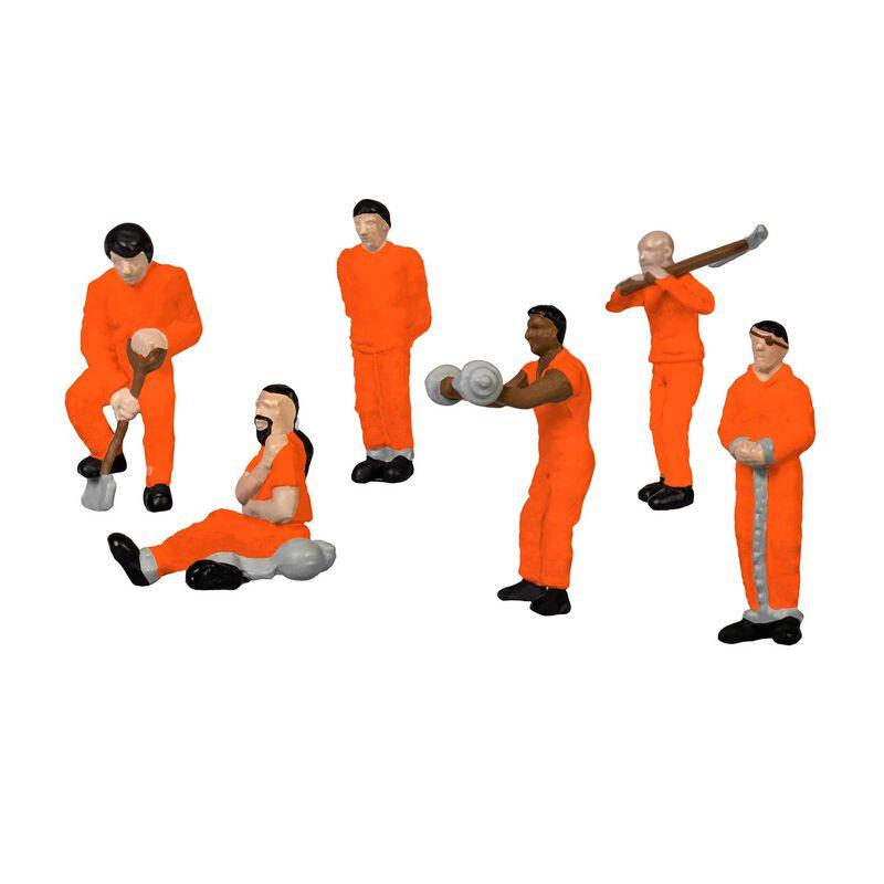 Prison Work Crew - orange
