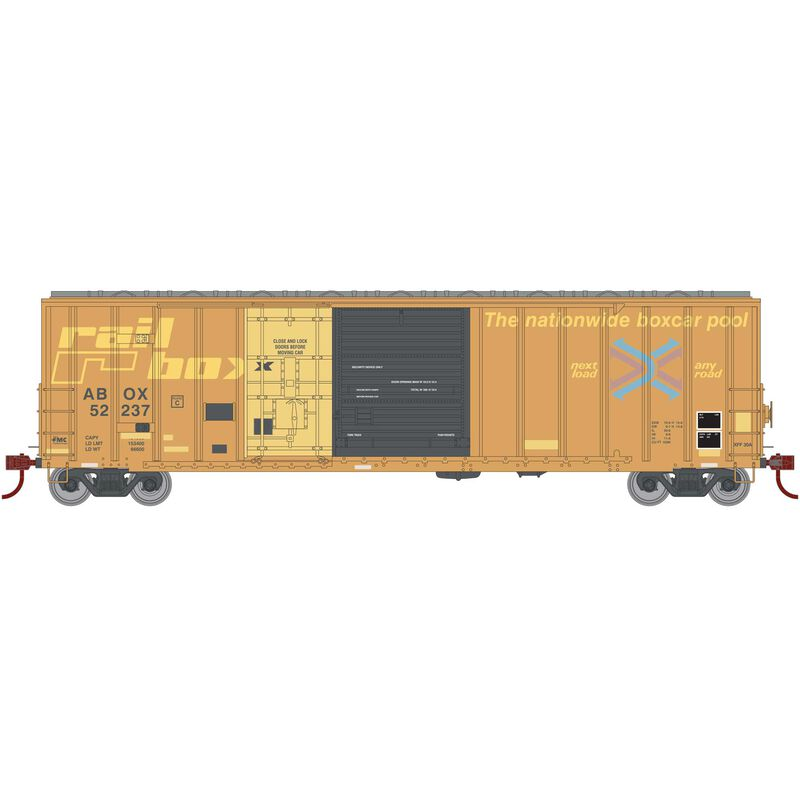 HO RTR 50' FMC Ex-Post Combo Door Box RBOX #52237