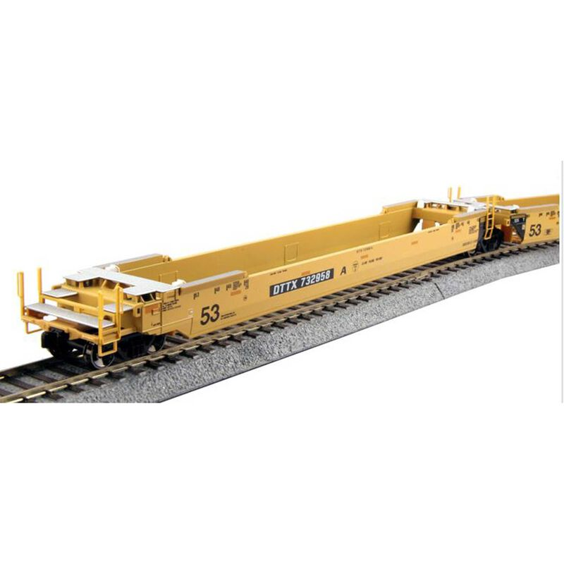 HO  MAXI-IV Well Car Pacer Stacktrain #6066