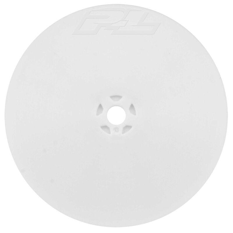 Velocity 2.2 4WD Front White Wheel (2)  B64