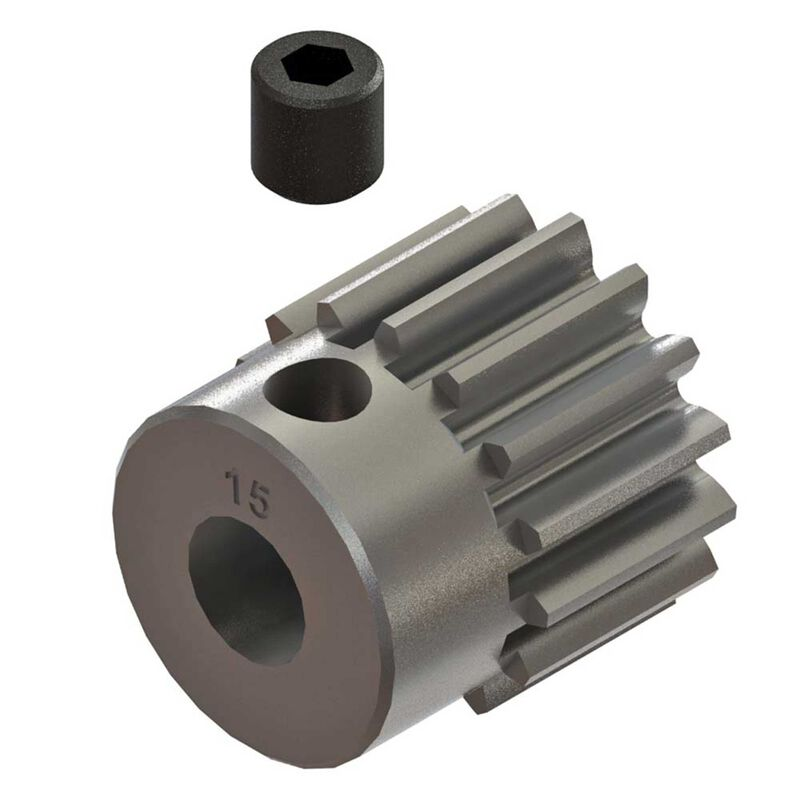 Pinion Gear 15T 0.8mod: 4x4