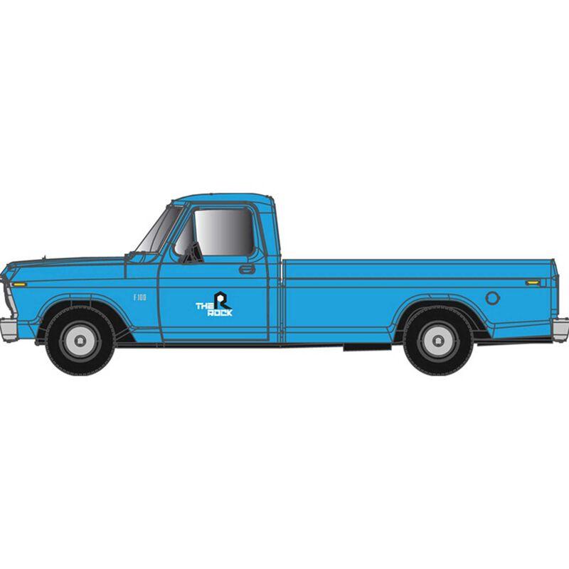 N  F-100 Ford Pick Up Truck Rock Island (Blue)