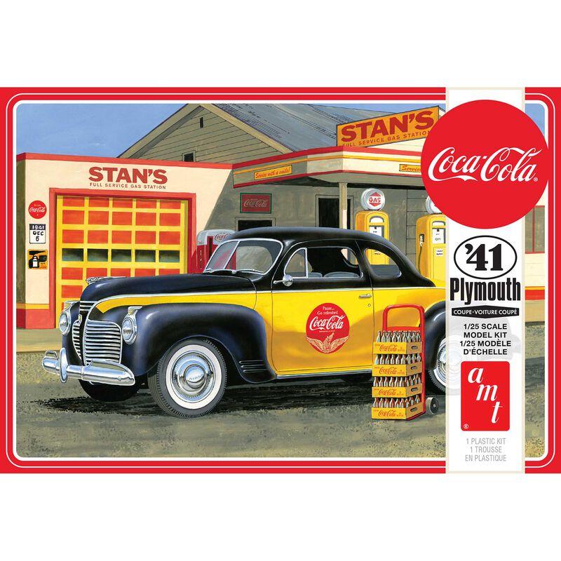 1/25 1941 Plymouth Coupe Coca-Cola
