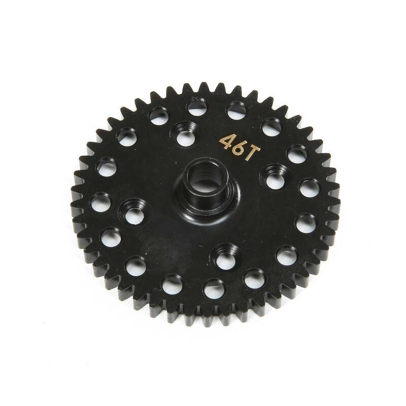 Center Diff 46T Spur Gear Lightweight: 8X