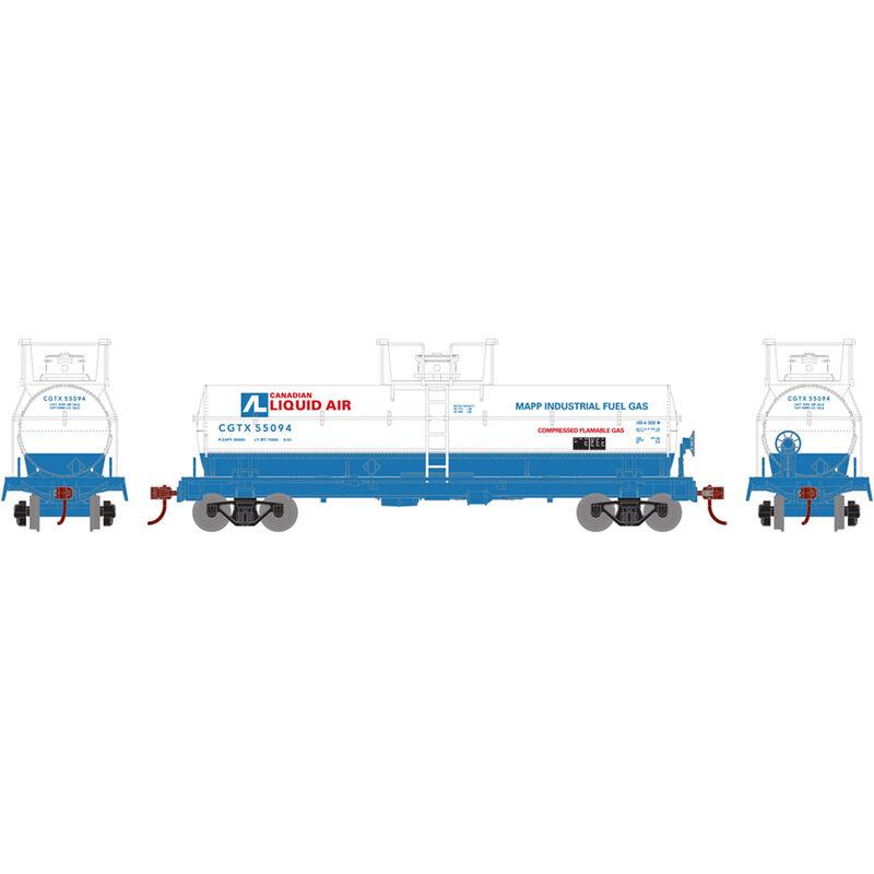 HO Chemical Tank CGTX Canadian Liquid Air #55094