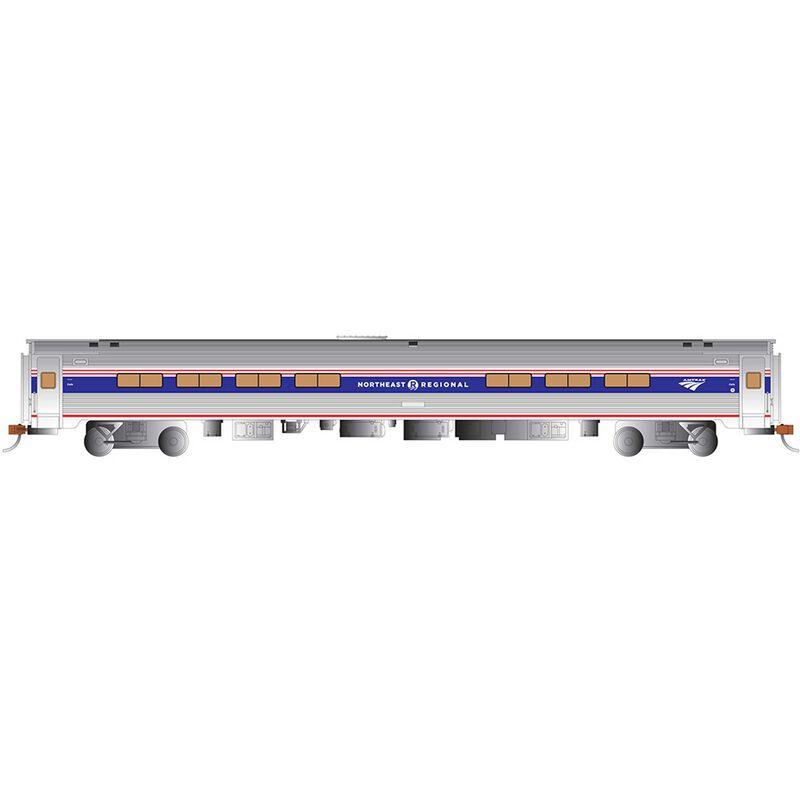 HO 85' Budd Amfleet I Business Amtrak NE Ph VI