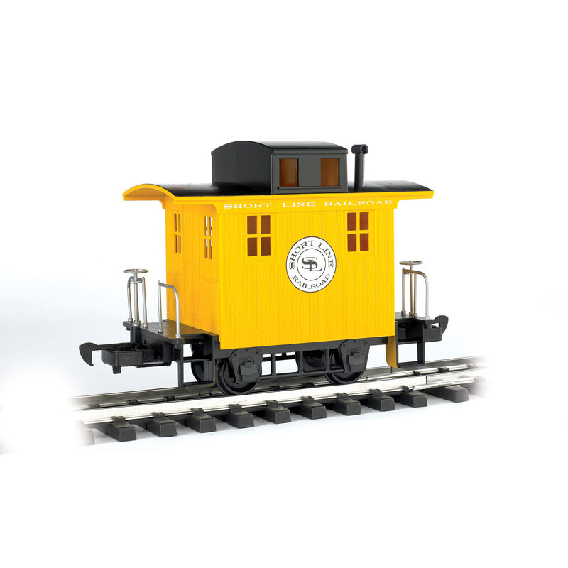 G Li'l Big Haulers Caboose, Short Line/Yellow