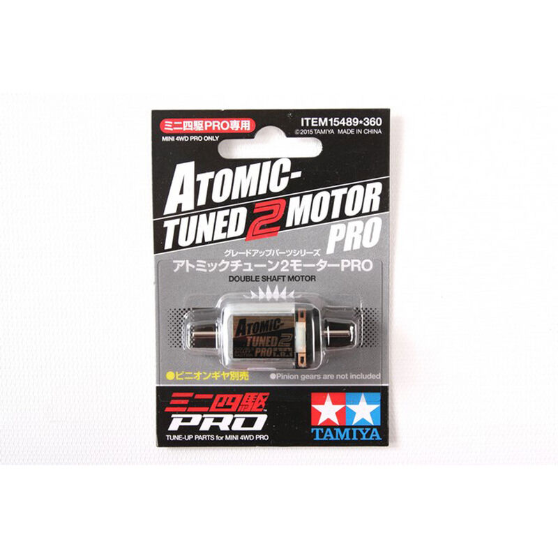 JR Atomic-Tuned 2 Brushed Motor PRO