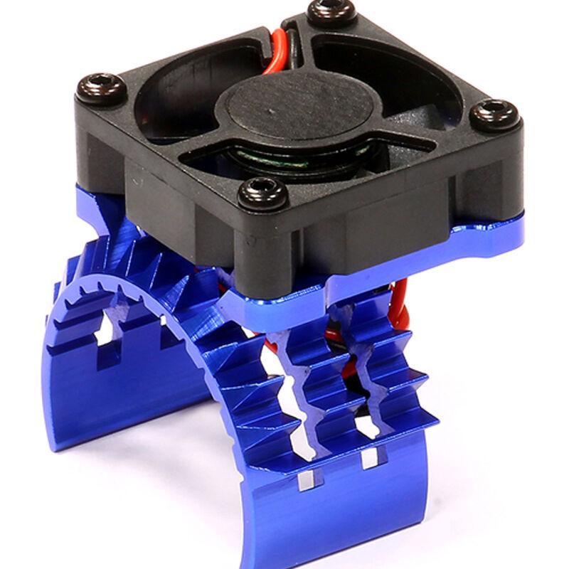 T2 Motor Heatsink with Fan: Stampede 4x4, Slash 4x4
