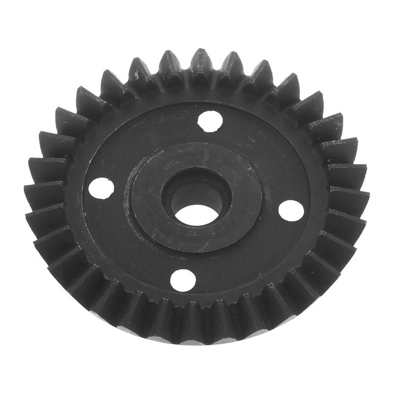 Diff Ring Gear 32T Straight: Nero
