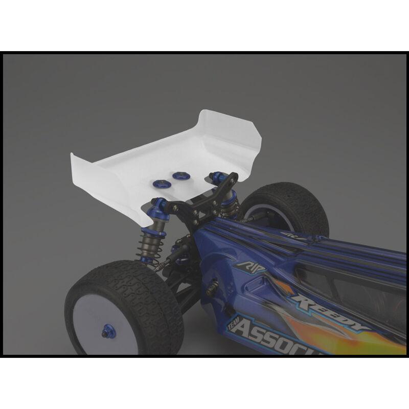 1/10 Aero Rear Clear Wing, Short Cord (2): B6, B6D