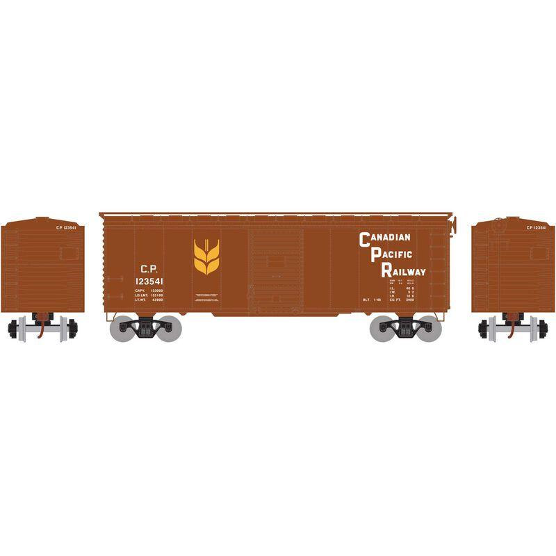 HO RTR 40' YSD Box CPR, Block Grain Service #123541