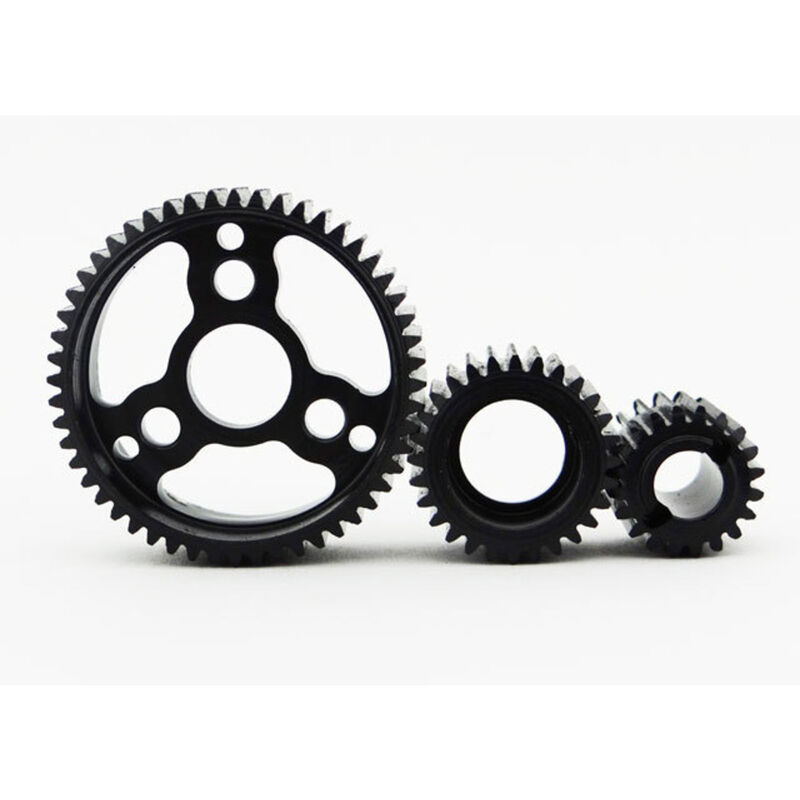Hardened Steel Light Weight Gear Set: Wraith Scx+Ax