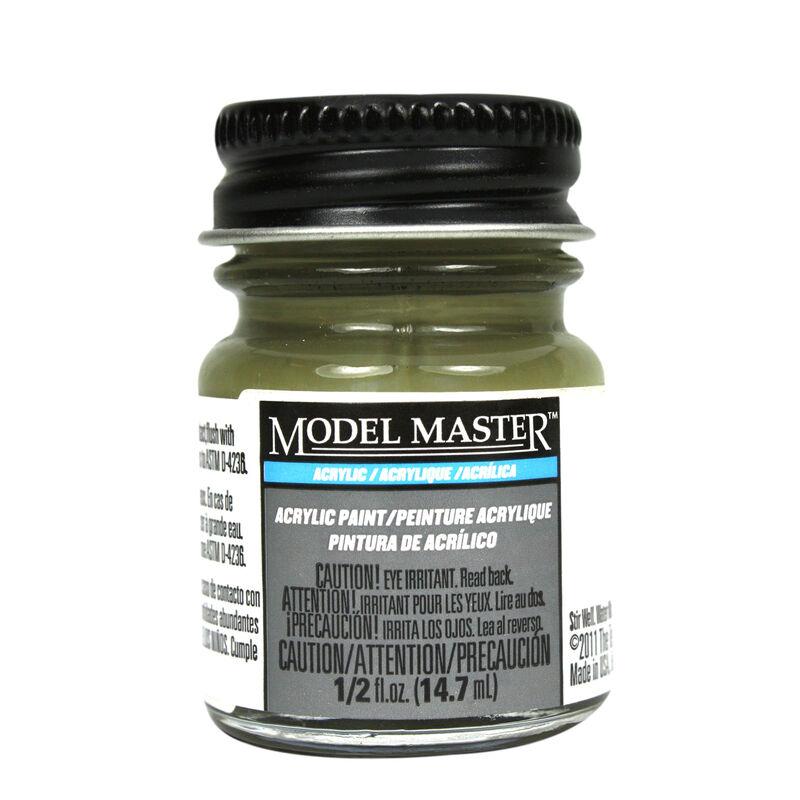 Acryl Flat 1/2oz Olive Drab