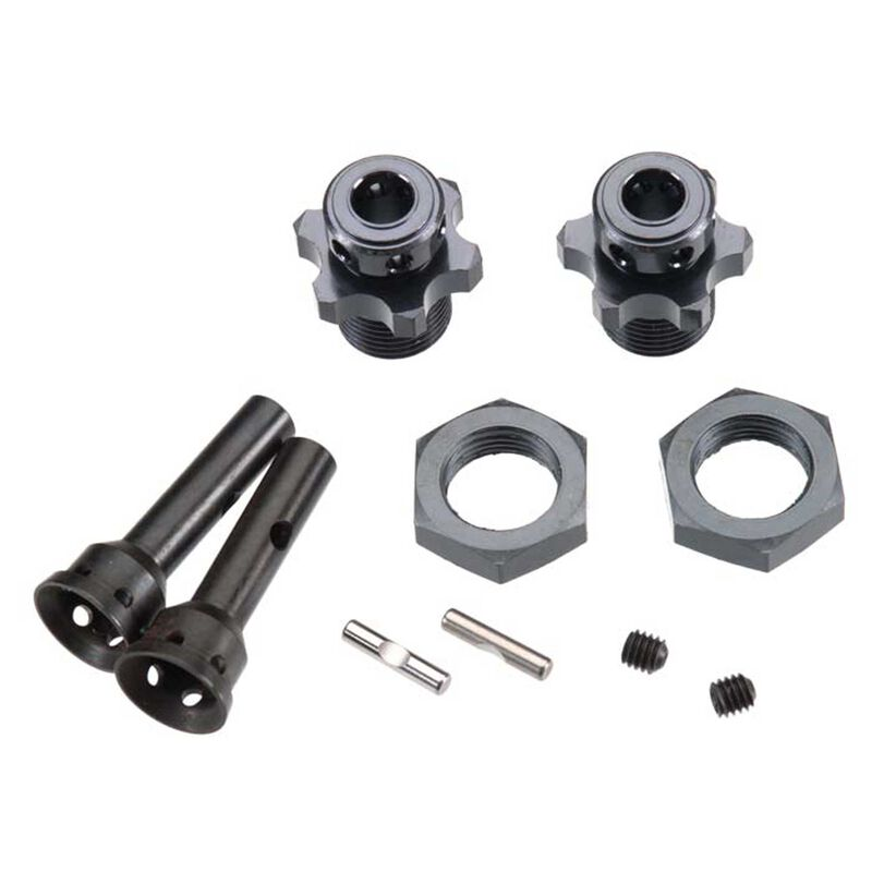 Hub Adapter 17mm 1 8 Buggy SCT410 (2)