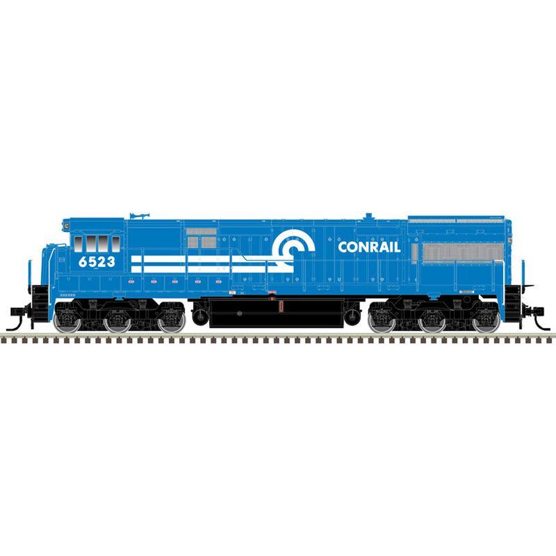 HO U28C CG Gold Conrail 6523, Blue/White