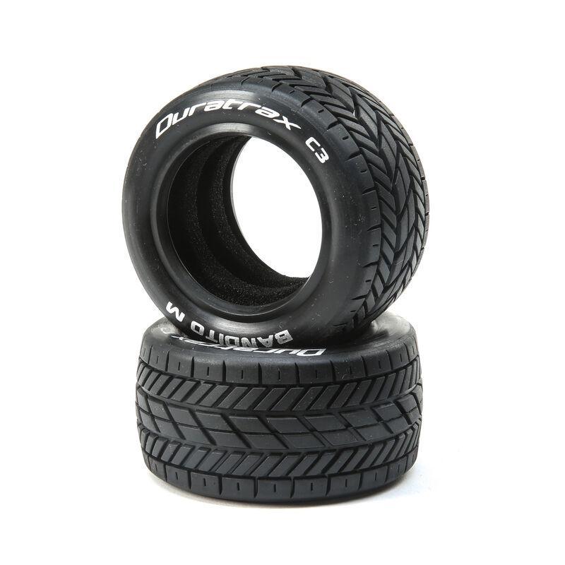 Bandito M 1/10 2.2 Buggy Oval Tires Rear C3 (2)